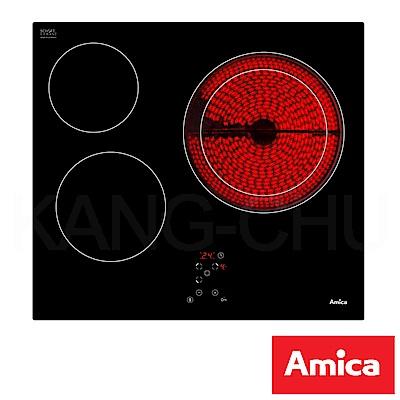 波蘭Amica APV-6310 9段火力強化玻璃檯面式三口電陶爐(不含安裝)
