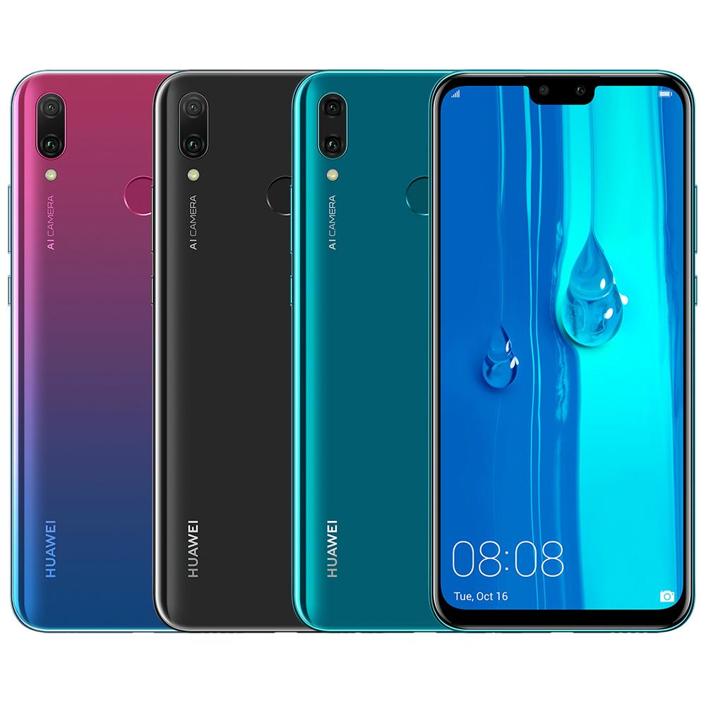 HUAWEI Y9 2019 (4G/64G) 6.5吋 前後AI 雙鏡頭智慧手機
