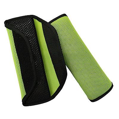 氣墊式安全帶護套(蘋果綠)-急速配