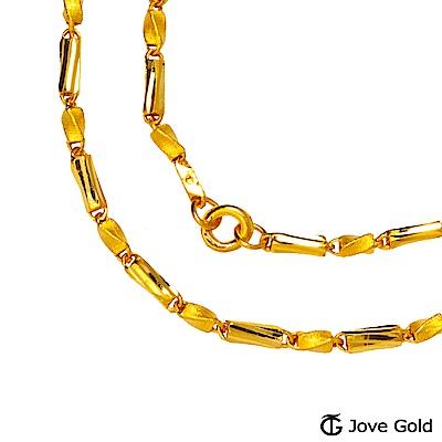 Jove gold 自在黃金項鍊(約10.30錢)(約2尺/60cm)