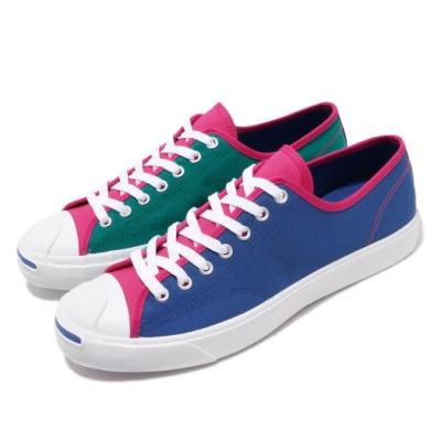 Converse 休閒鞋 Jack Purcell 穿搭 男女鞋 開口笑 基本款 帆布 鴛鴦 情侶鞋 藍 綠 167922C