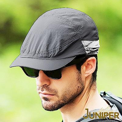 JUNIPER 抗紫外線UV防潑水遮陽可收納式披風鴨舌帽