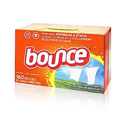 美國進口 Bounce 烘衣柔軟片(160片)