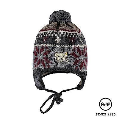 STEIFF德國精品童裝 北歐雪花羊毛針織毛帽