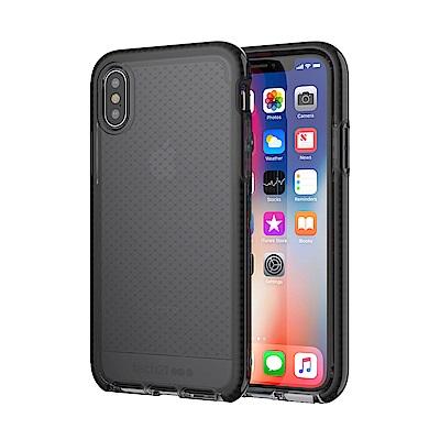 Tech21 英國超衝擊 Evo Check防撞軟質格紋保護殼-iPhone X/Xs