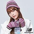 New Balance毛帽手套禮盒組 500342532000  紫色