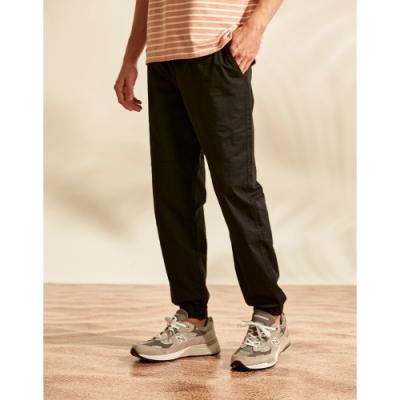 CACO-梯型剪接束腳褲(二色)-男【B1AR009】