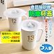 【溫潤家居】居家食品級無毒矽膠杯蓋(5入)茶杯水杯防塵蓋 product thumbnail 1