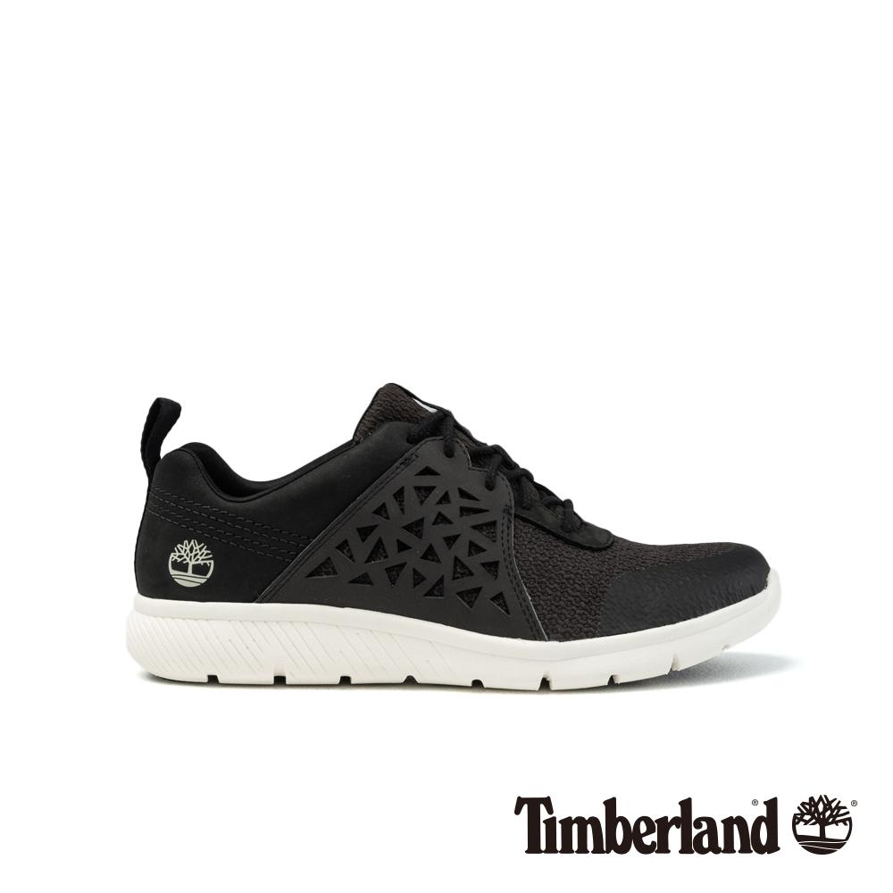 Timberland 女款黑色正絨面皮革Boltero低筒靴 A1PEL @ Y!購物