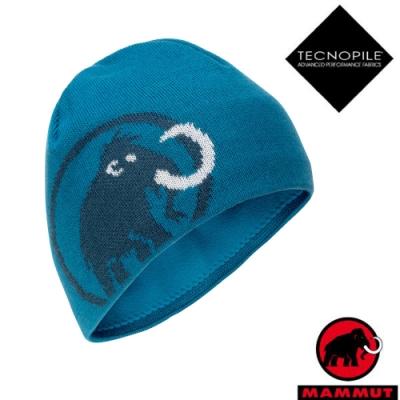 長毛象 Tweak Beanie 超輕彈性雙層針織保暖羊毛帽_藍寶石/水鴨藍