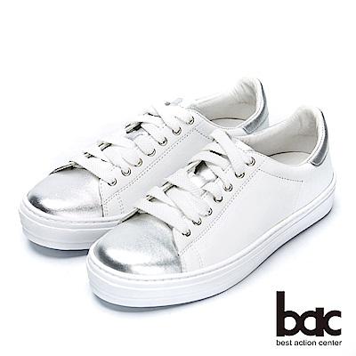 bac街頭運動-金屬撞色綁帶運動感休閒鞋