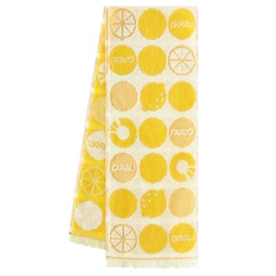 日本丸真 Eco de COOL 涼感運動毛巾 熱帶水果黃