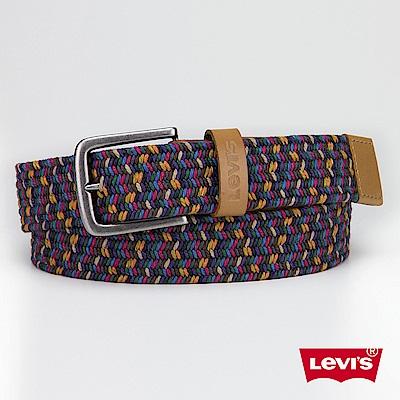 皮帶 男款 時尚針扣 編織 - Levis