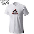 Mountain Hardwear 男款-混棉休閒短袖T恤-白色