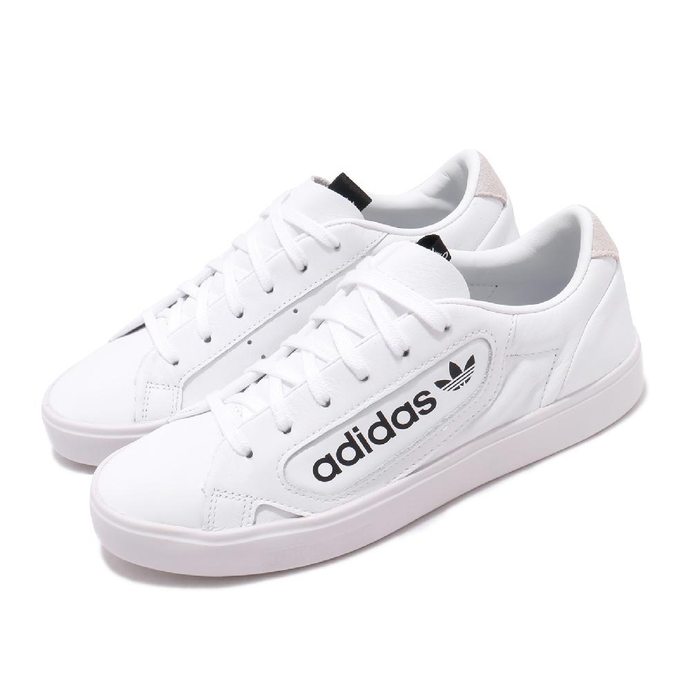 ADIDAS  SLEEK 女休閒鞋 白-EF4935