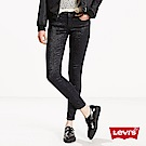 Levis 女款 710 中腰超緊身窄管 超彈力牛仔長褲 金蔥