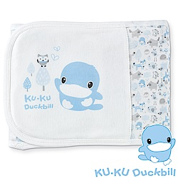 KU.KU酷咕鴨-竹纖有機棉元氣恆溫肚圍-S(藍/粉)