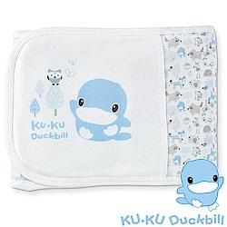 KU.KU酷咕鴨-竹纖有機棉元氣恆溫肚圍-L(藍/粉)