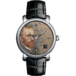 梵谷Van Gogh Swiss Watch梵谷經典名畫男錶(Gent 02-1)