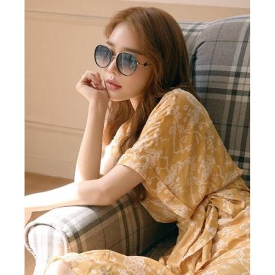 SWAROVSKI 廣告款 水鑽 太陽眼鏡(黑色)SK244K