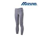 MIZUNO 美津濃 女瑜珈褲 白灰 K2TB020903