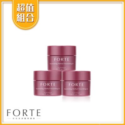 FORTE 台塑生醫 植萃活妍凝膠15mlx3入 共45ml