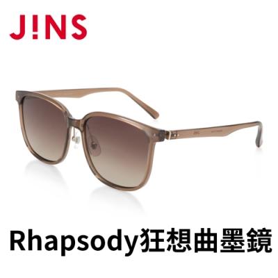 JINS Rhapsody 狂想曲ARTISTIC CHIC墨鏡(ALRF21S053)淺棕色