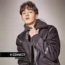 H:CONNECT 韓國品牌 男裝 - 麻花針織上衣  - 黑