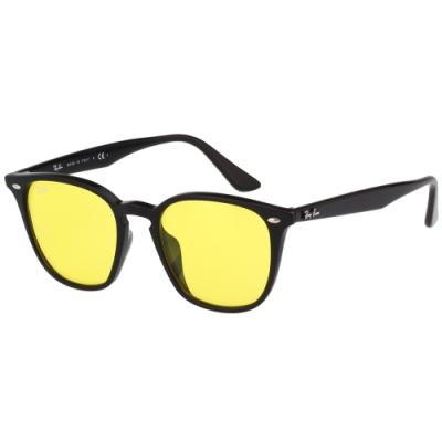 RAY BAN 淺色造型 太陽眼鏡 (黑色) RB4258F-601
