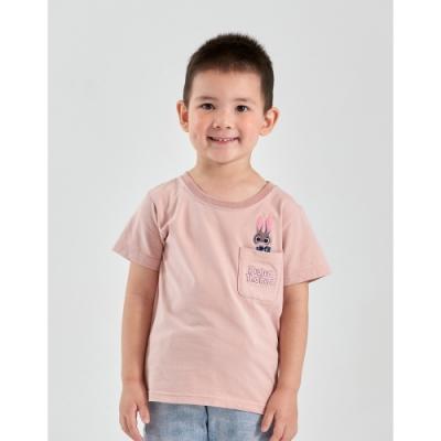 CACO-茱蒂口袋短T-親子款-童【B3DI086】