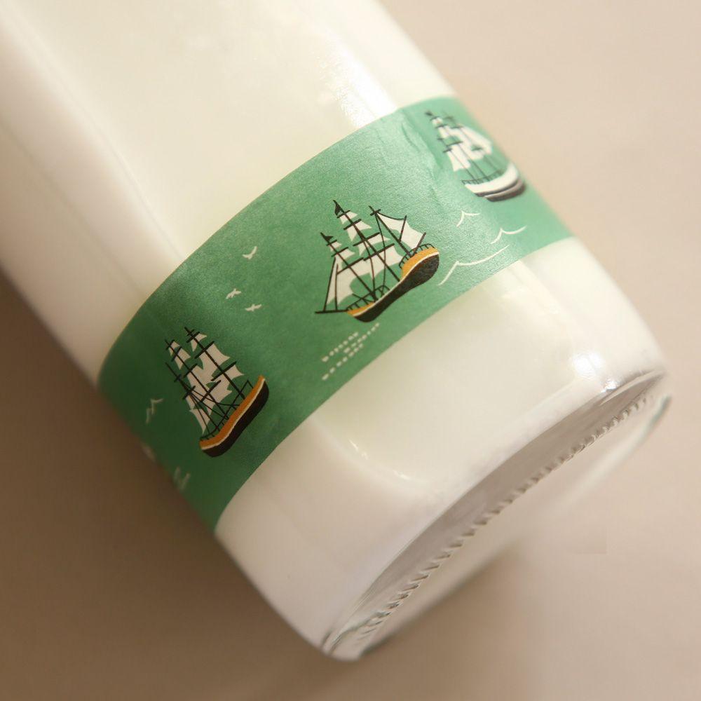 Dailylike 25mm單捲紙膠帶-07 航行