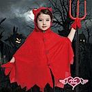 角色扮演 地獄小惡魔 兒童萬聖節派對表演服(紅L) AngelHoney天使霓裳