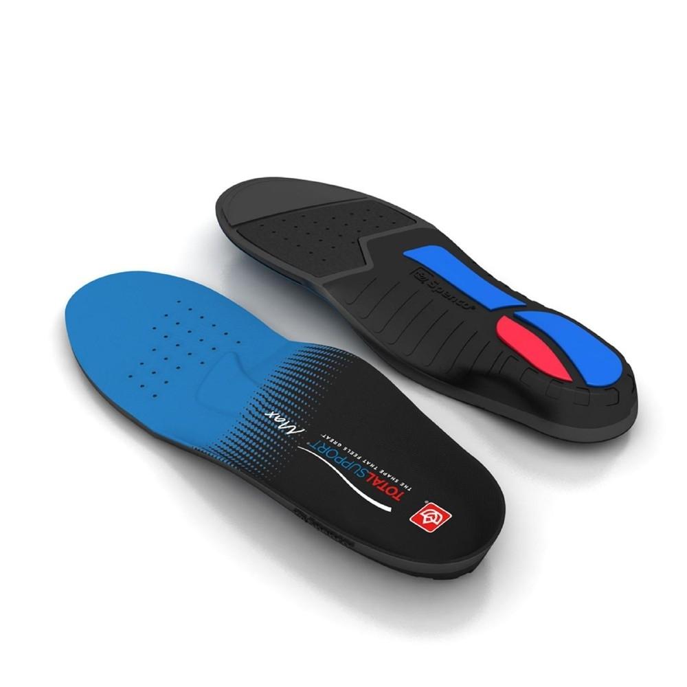 Spenco 鞋墊 Total Support Max 男女款 支撐 防護 緩衝 抗菌防臭 黑 藍 SP21858