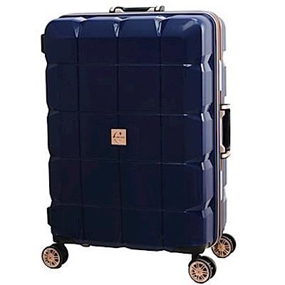 日本 LEGEND WALKER 6023-60-24吋 PP輕量行李箱 深河藍