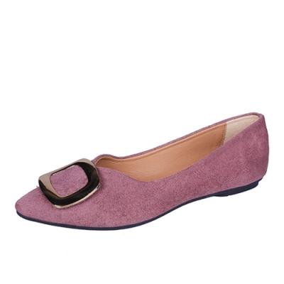 KEITH-WILL時尚鞋館 氣質魅力平底鞋-紫色