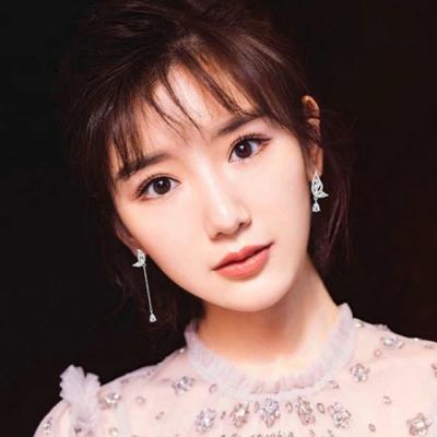 梨花HaNA  韓國925銀完美比例切割鋯石晶鑽圈圈耳環