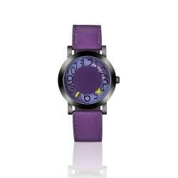 NO Monday Collection SEASONS系列 時尚潮流錶-紫/35mm