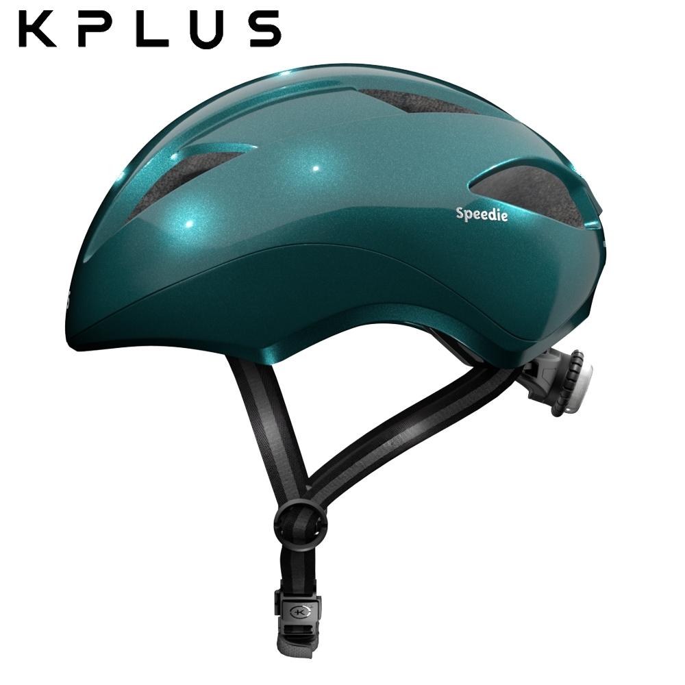 KPLUS-兒童休閒運動安全帽-SPPEDIE素色版-綠