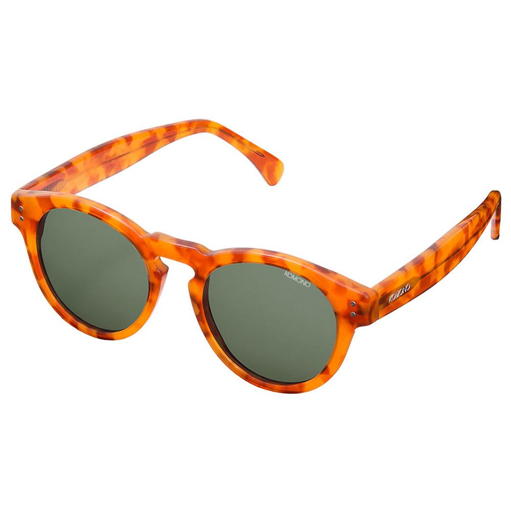 KOMONO CRAFTED工藝款手工太陽眼鏡 Clement-香甜焦糖