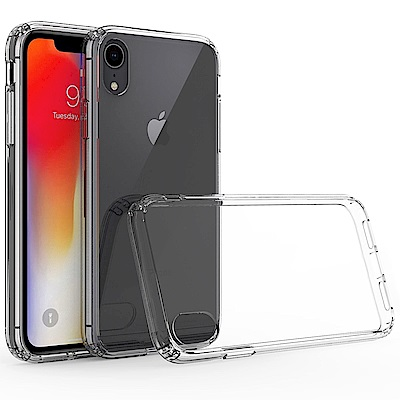 QinD Apple iPhone XR 雙料保護套