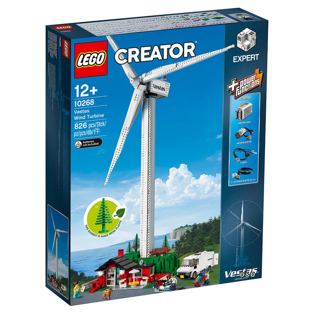 樂高LEGO Creator Expert系列 - LT10268 風力發電機