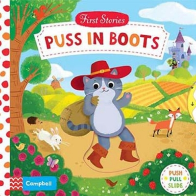 First Stories:Puss In Boots 鞋貓劍客硬頁拉拉操作書