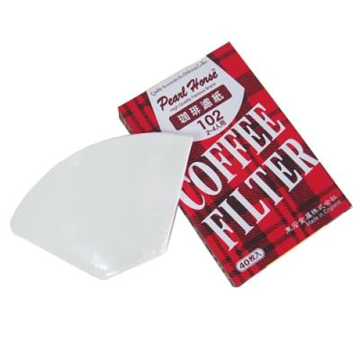寶馬牌咖啡濾紙2-4人(40枚入×6盒)
