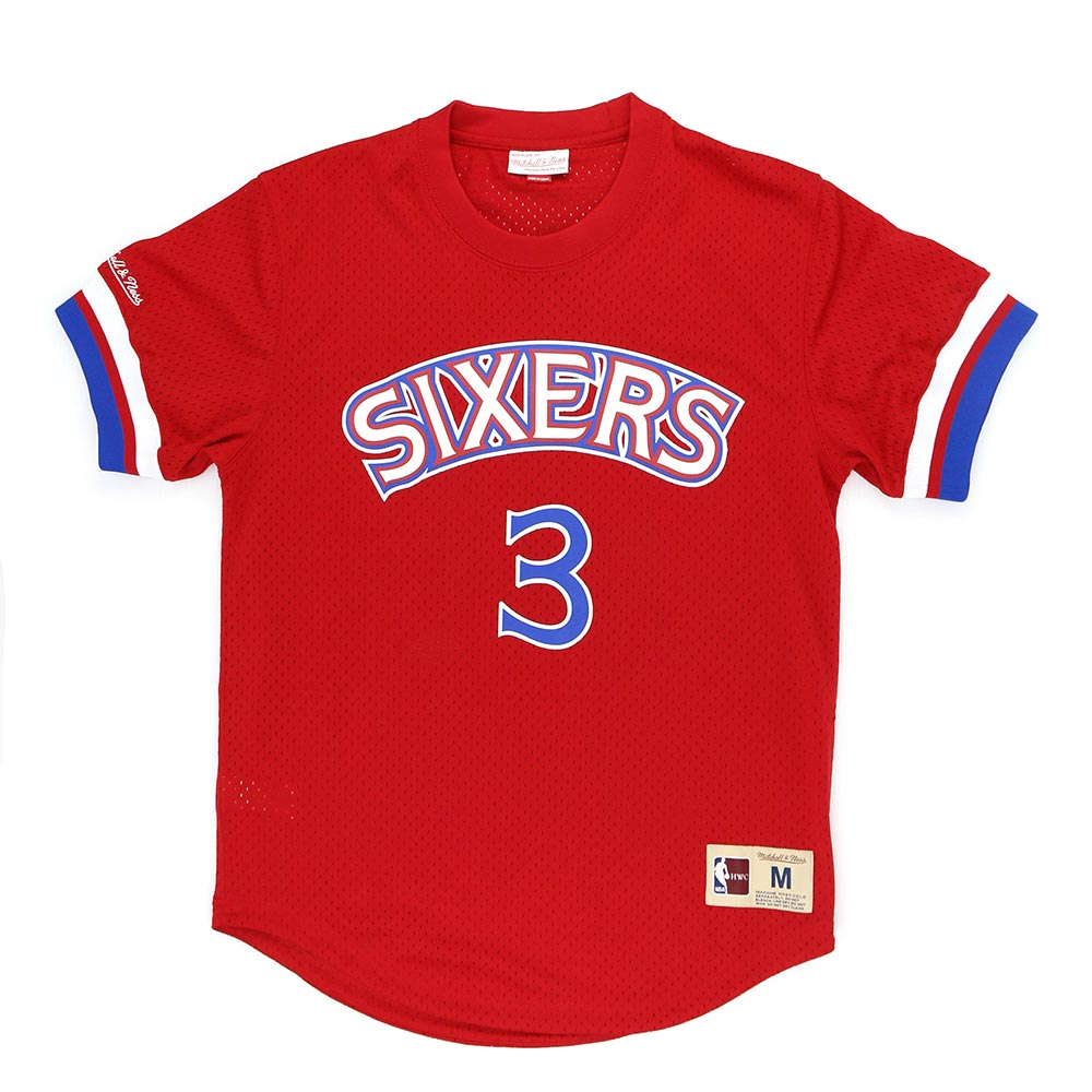 M&N NBA 球員號碼T恤 76人 Allen Iverson product image 1