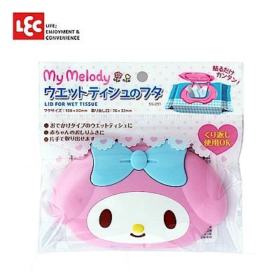 日本LEC My Melody美樂蒂造型濕紙巾蓋 1入