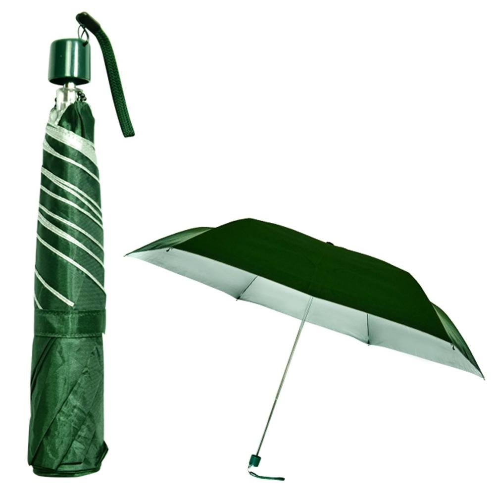 飛蘭蔻 2304 21吋銀膠素色超細傘 (隨機出貨)