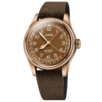 ORIS BIG CROWN 指針式日期青銅錶 0175477413166-0752074BR