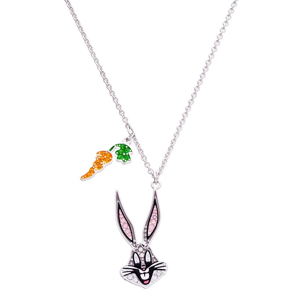 SWAROVSKI施華洛世奇 賓尼兔水晶項鍊
