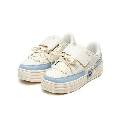 FILA FUNKY TENNIS VC 中性厚底運動鞋(魔鬼氈)-藍 4-C610V-147