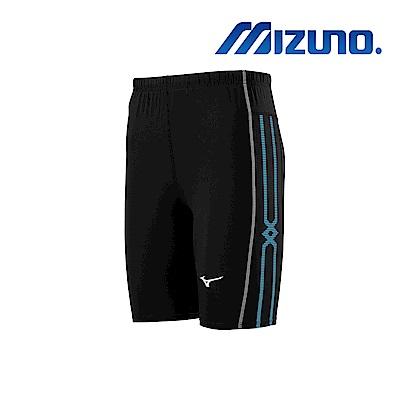 MIZUNO 緊身褲(中長型) 黑 U2TB9G0409